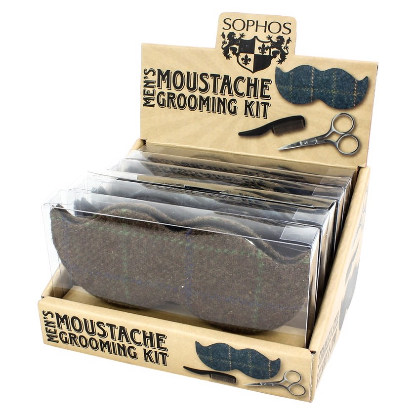Moustache Grooming Set - SAVE OVER 30%