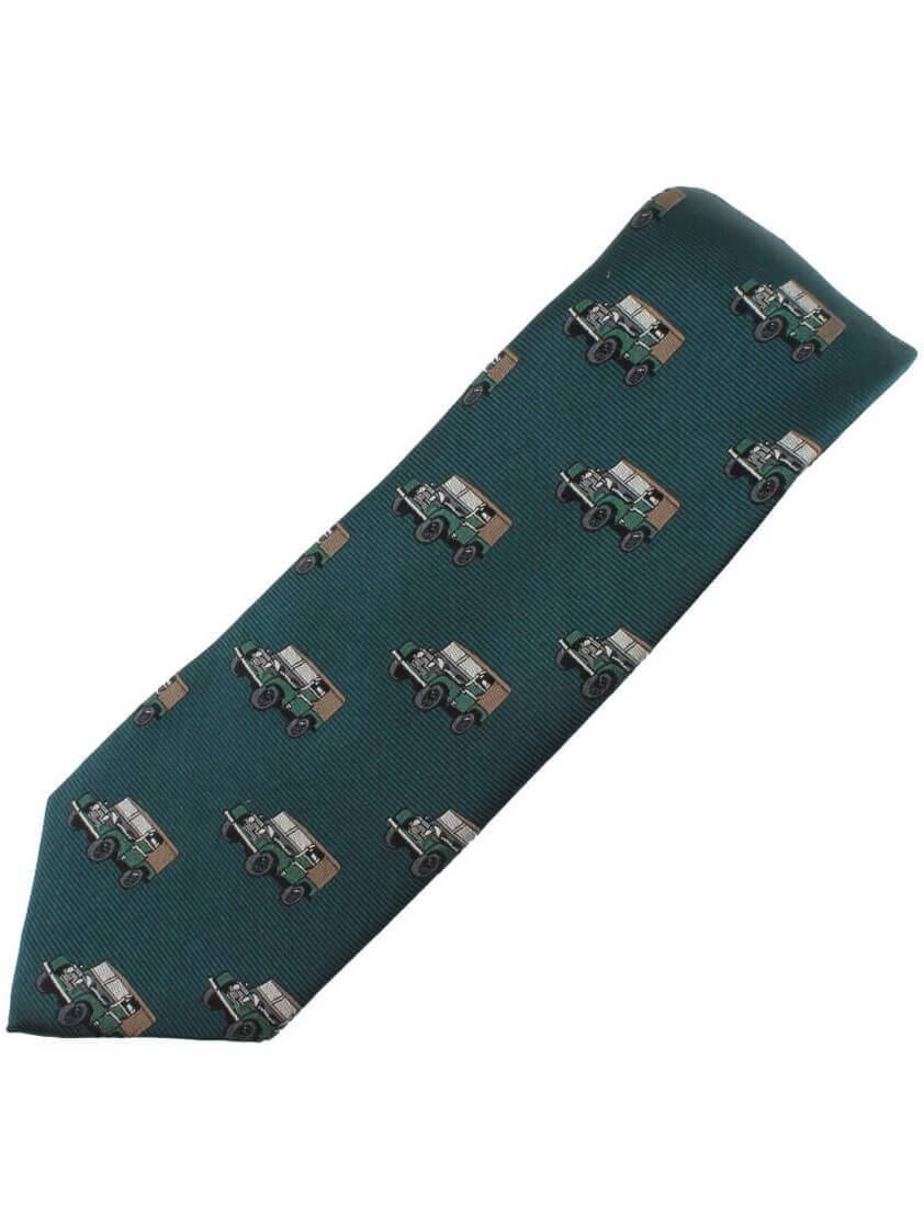 Green 4x4 Landrover style Tie