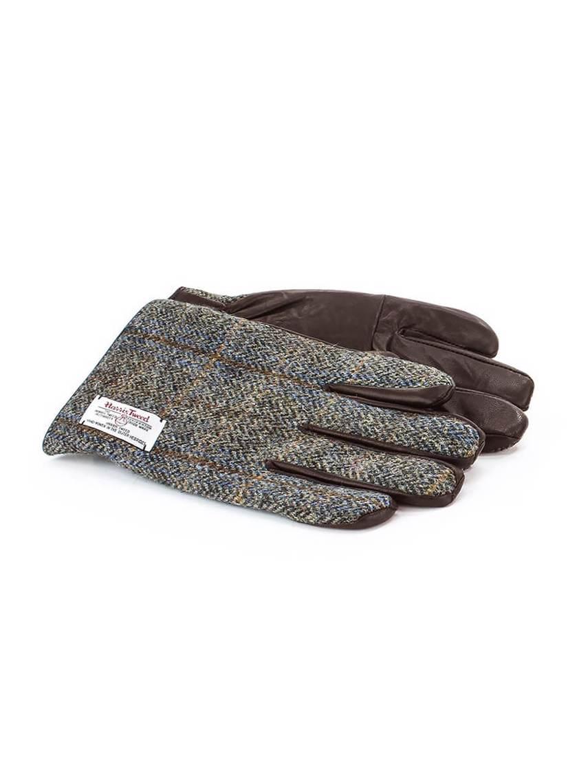 Brown Harris Tweed  Gloves