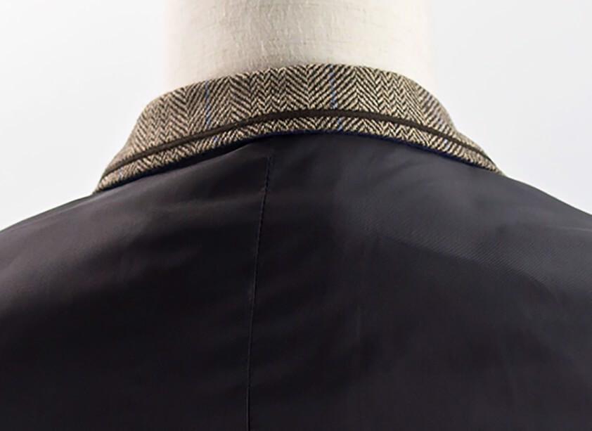 Tan Albert Tweed Waistcoat