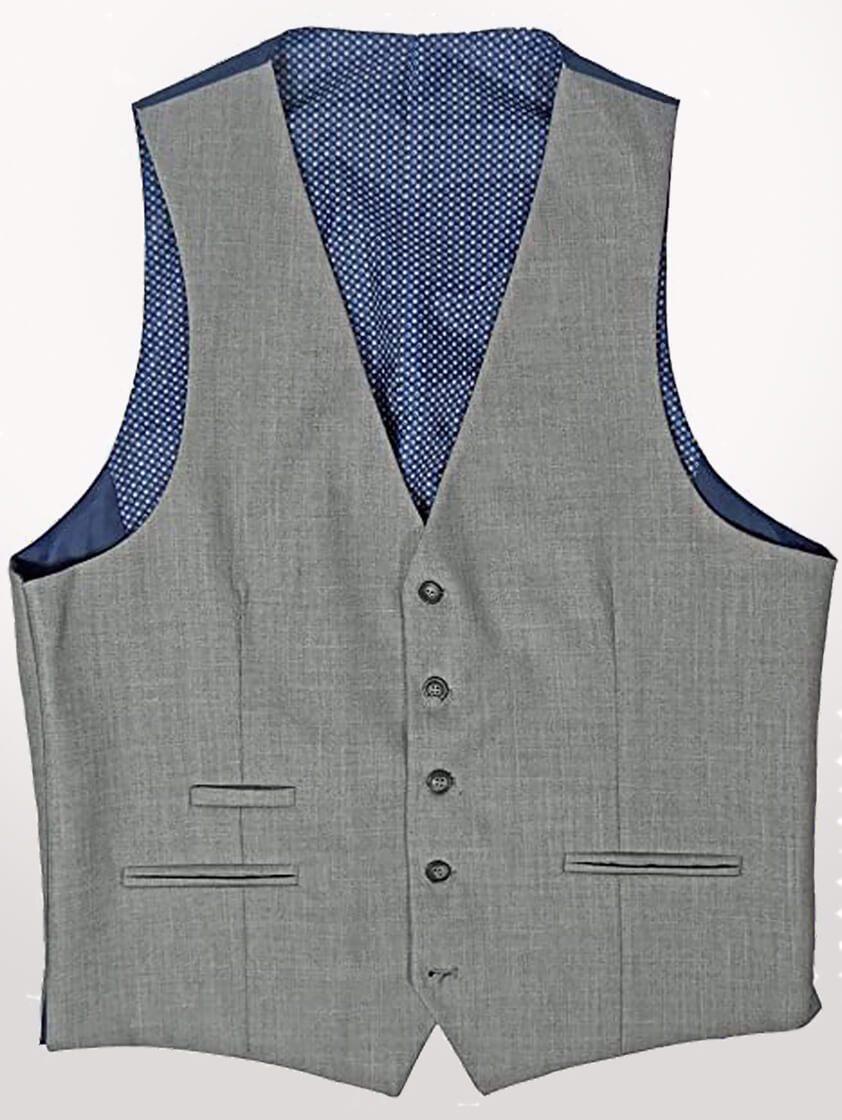 Light Grey Reegan Waistcoat