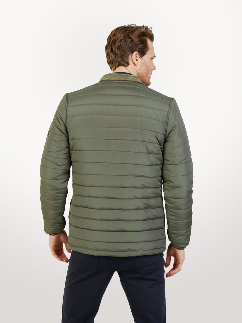 Olive Roman Quilted Jacket - SAVE 16%