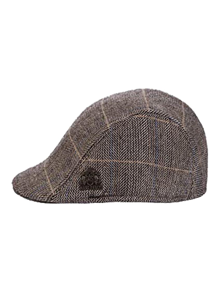 DX7 Tweed Flat Cap