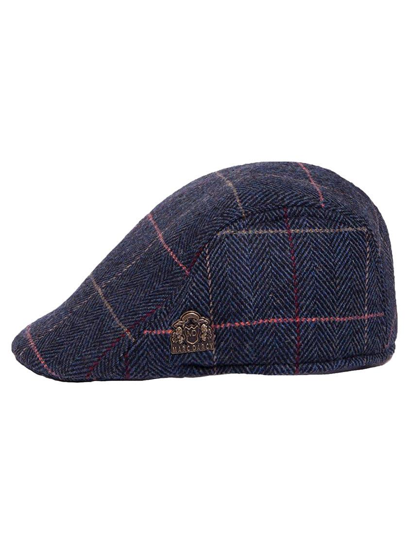 Eton Tweed Flat Cap
