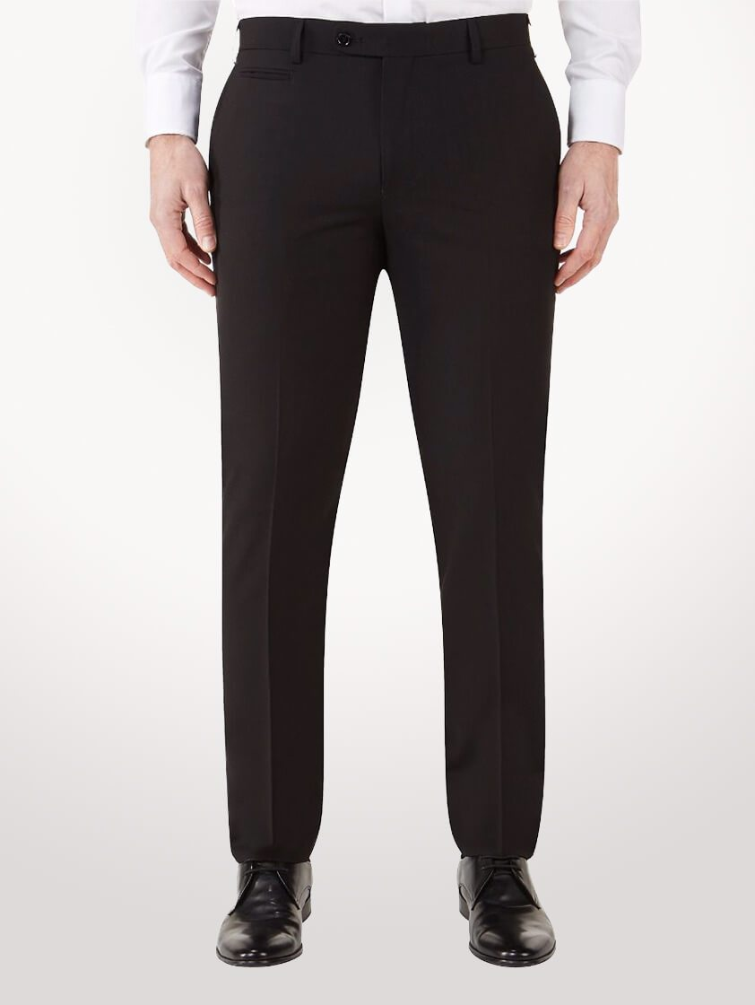 Black Madrid Tailored  Trousers