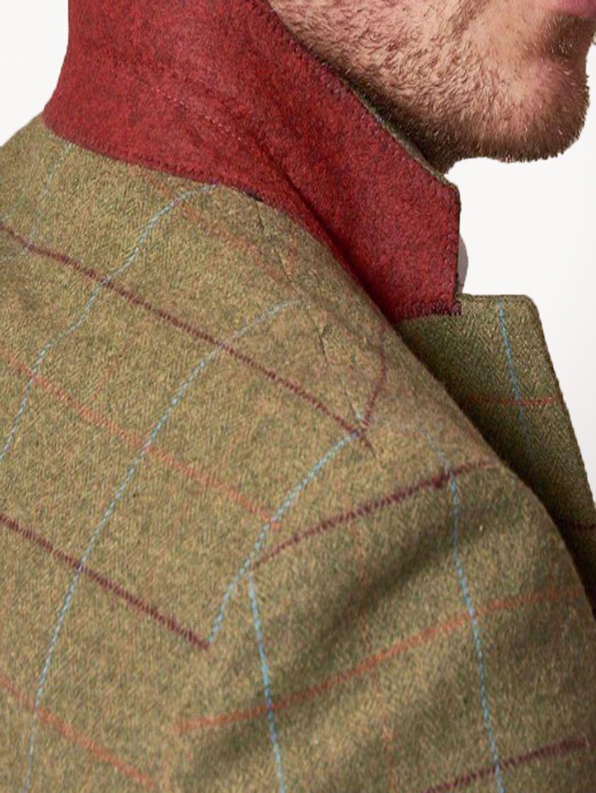 Green Ellis Tweed Suit