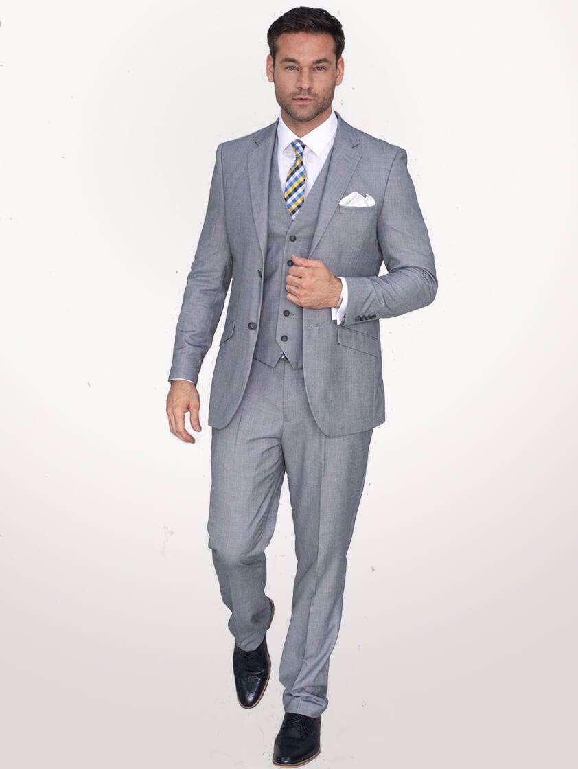 Light Grey Reegan Suit