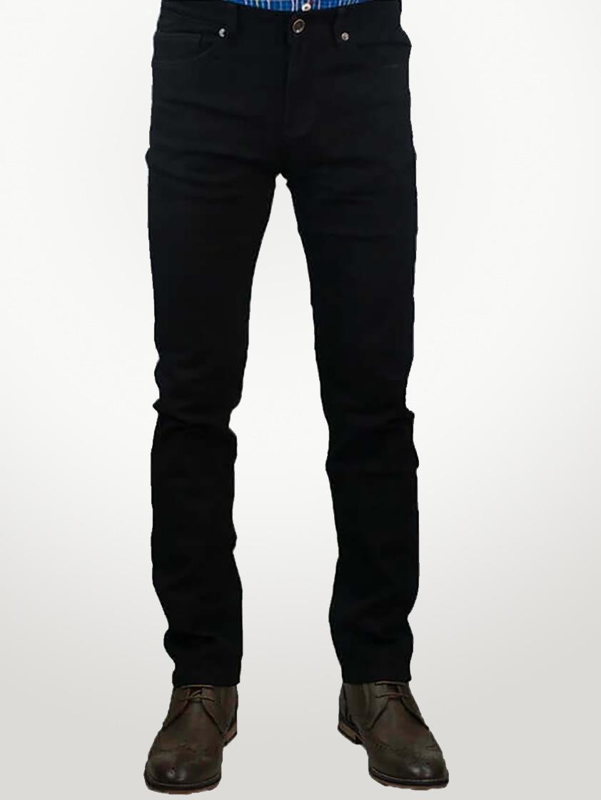 Black Milano Stretch Jeans