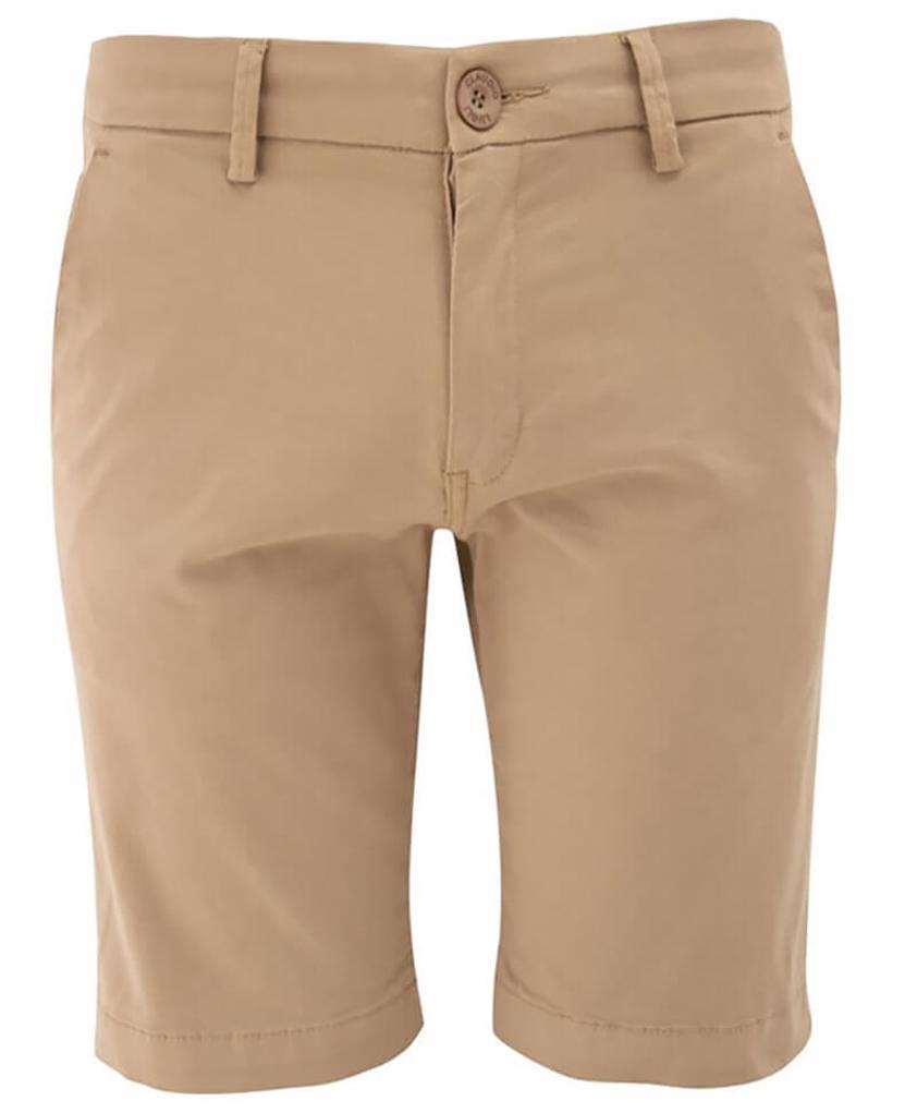 Stone Slim Fit Chino Style Shorts - Save 50%