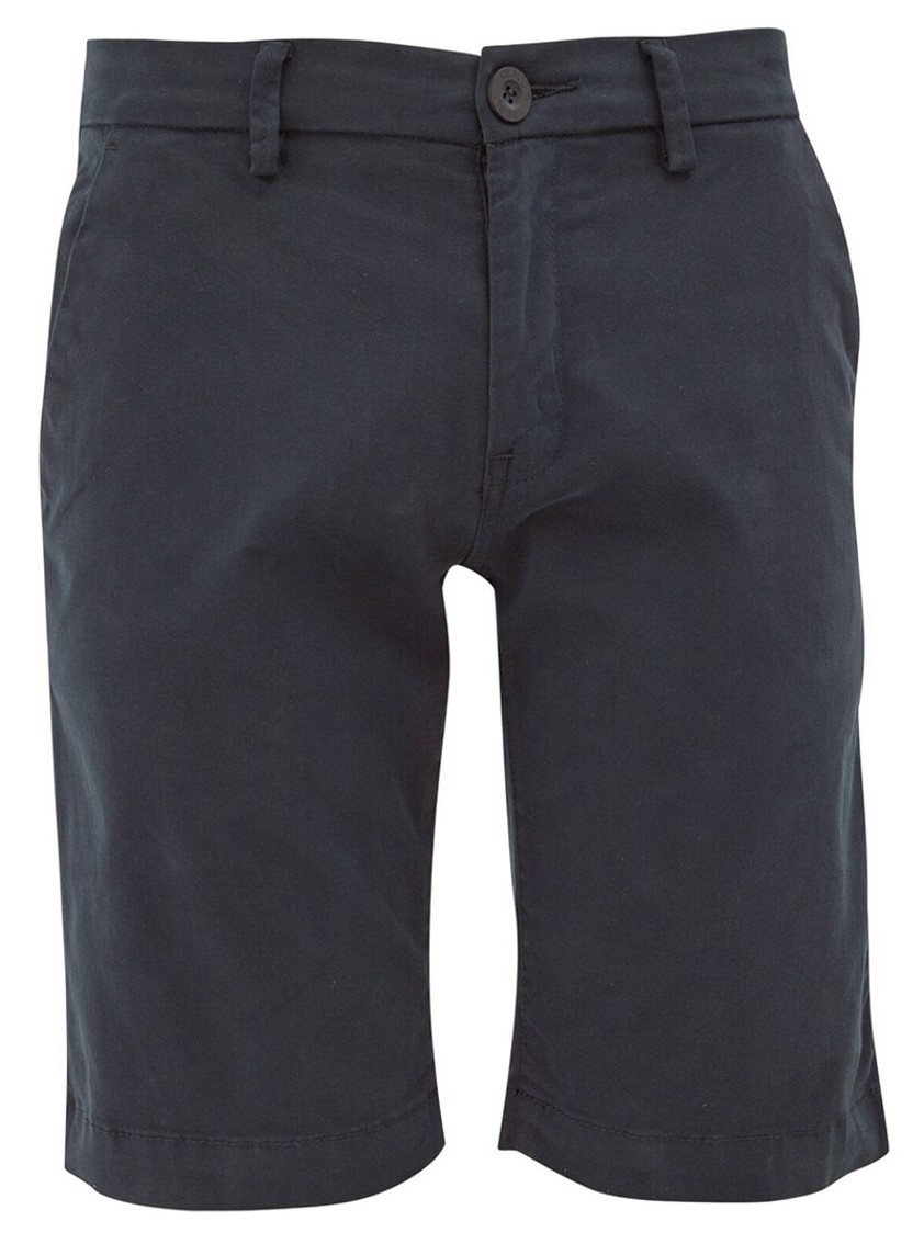 Navy Slim Fit Chino Style Shorts - Save 50%