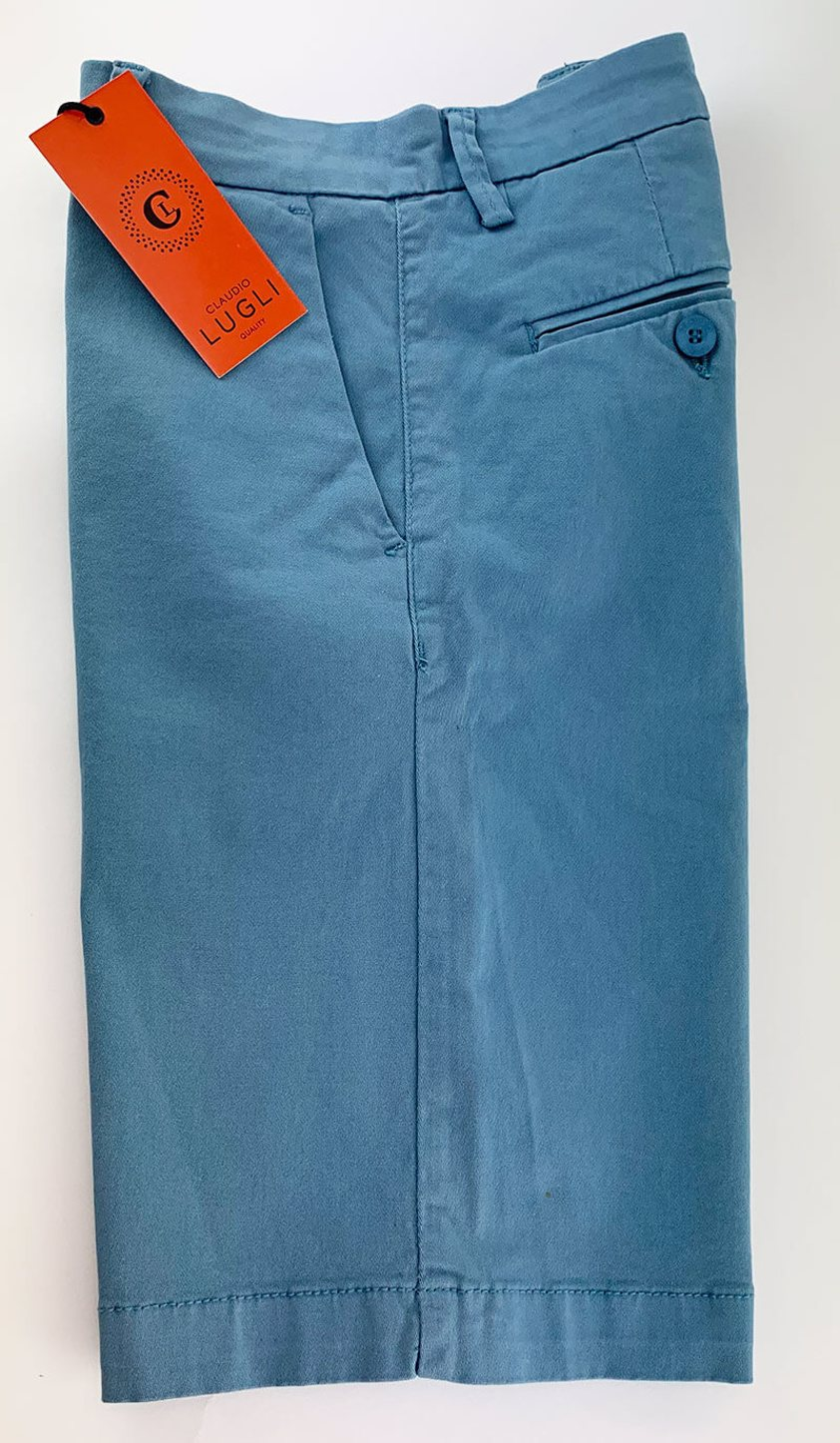 Sky Slim Fit Chino Style Shorts - Save 50%
