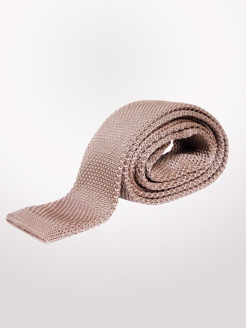 Oak Knitted  Tie
