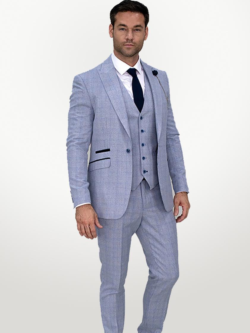 Sky Caridi 3 Piece Suit