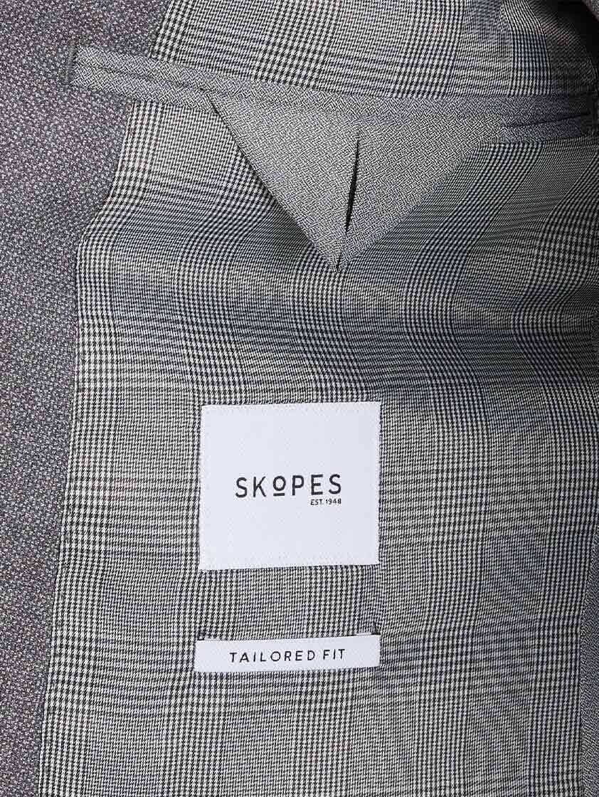 Silver Harcourt Slim Fit Tapered Suit