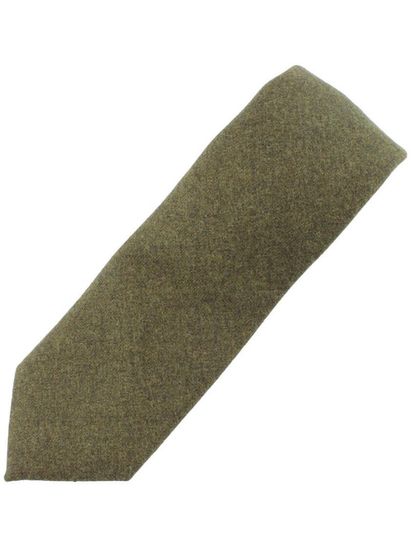 Green Plain Country Look Tie