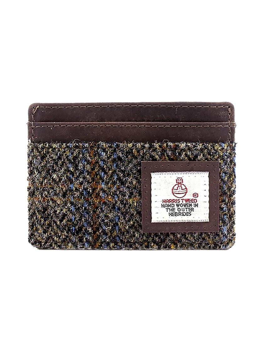 Brown Harris Tweed Cardholder - SAVE 30%
