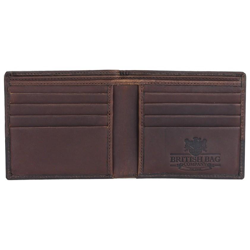 Brown Wax Canvas  Wallet