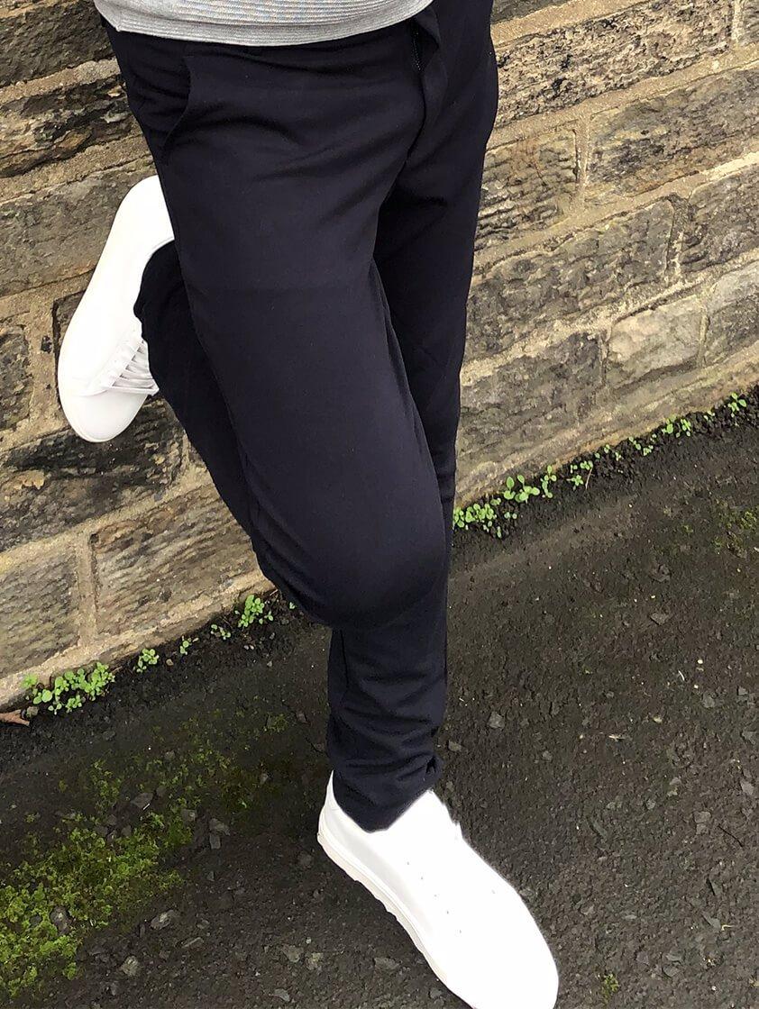 Navy Napa Casual Pants