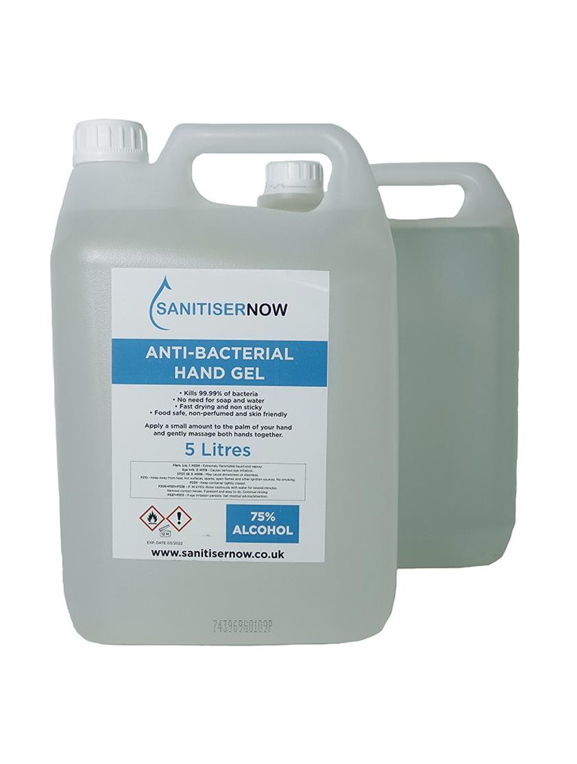 10 x 5000ml Non-Alcohol Antibacterial Gel