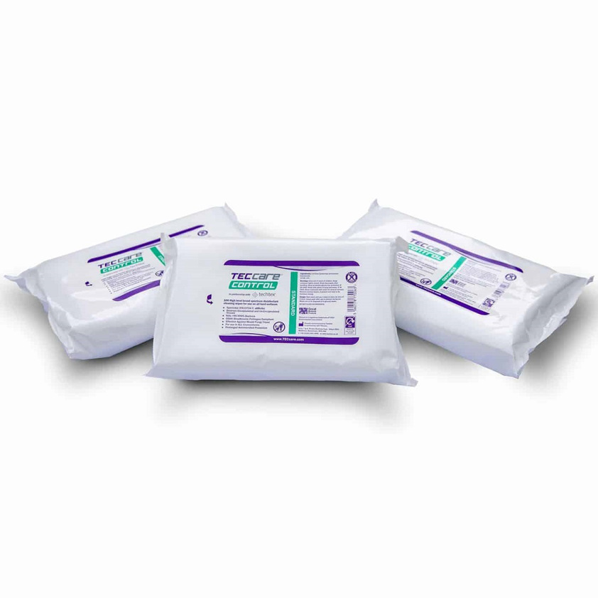 12 x 100 Large Anti-Bacterial Multi-Surface Wipes