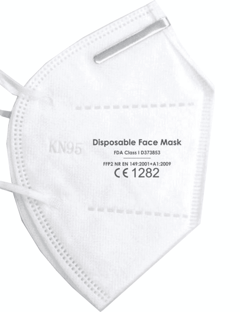 FFP2 Face Mask/Respirator (25 pack)