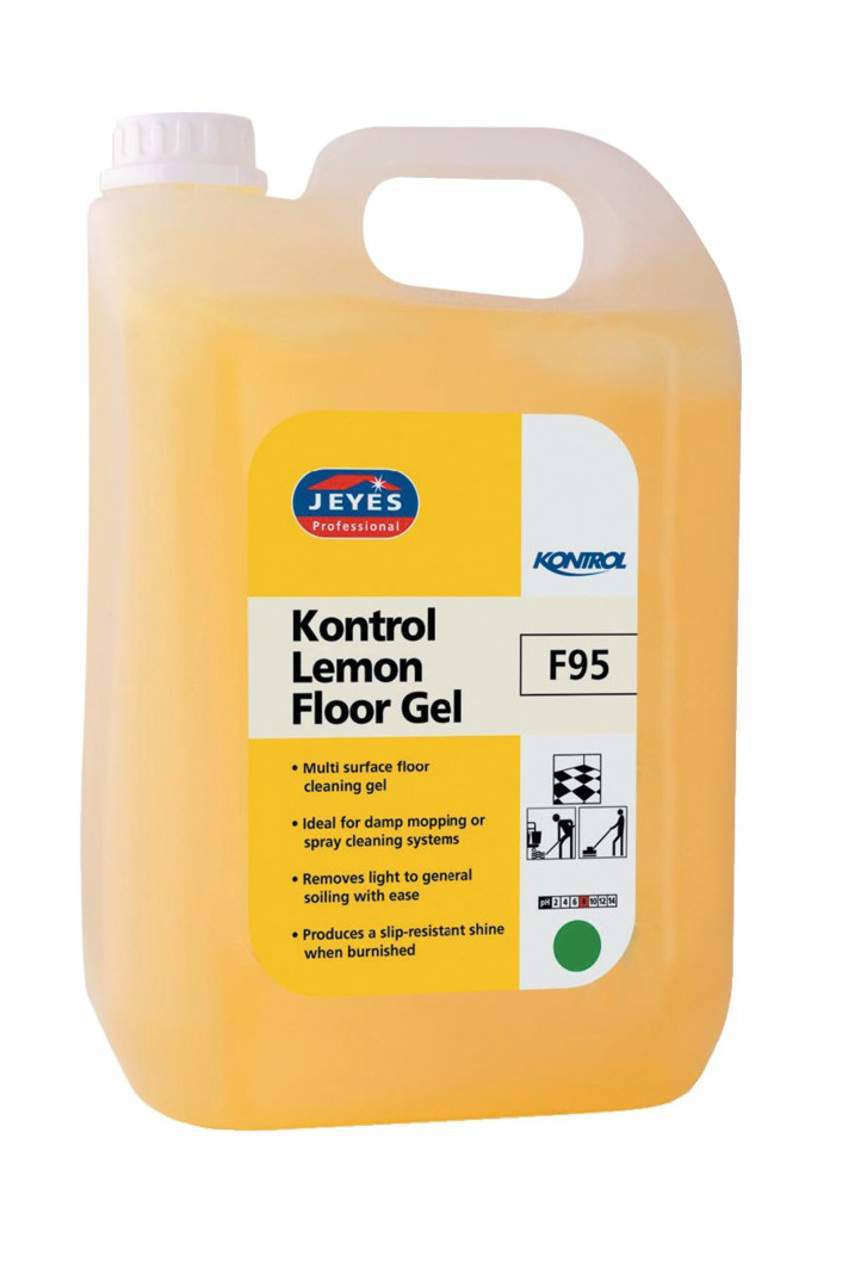 5000ml Lemon Floor Gel (Multi-Pack)