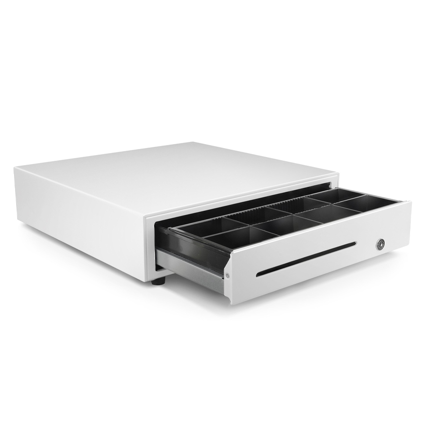 White Standard Cash Drawer