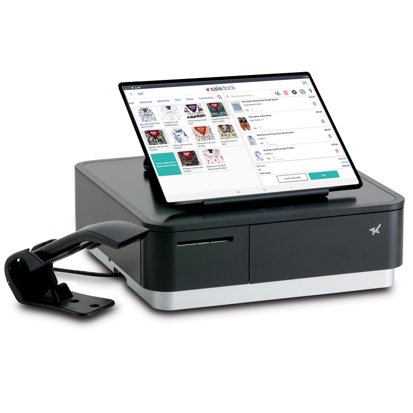 Black Star Micronics mPOP Printer and Cash Drawer