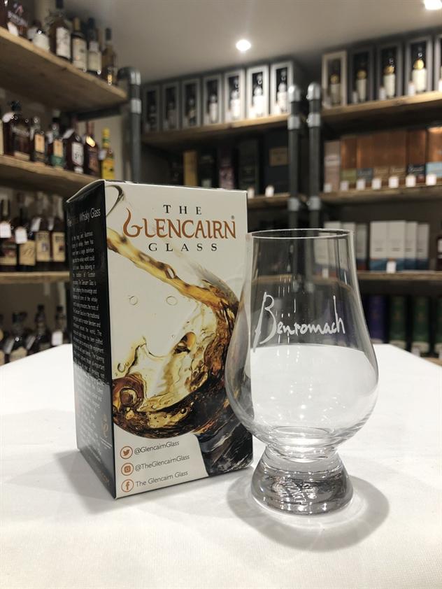 Benromach branded Glencairn Glass