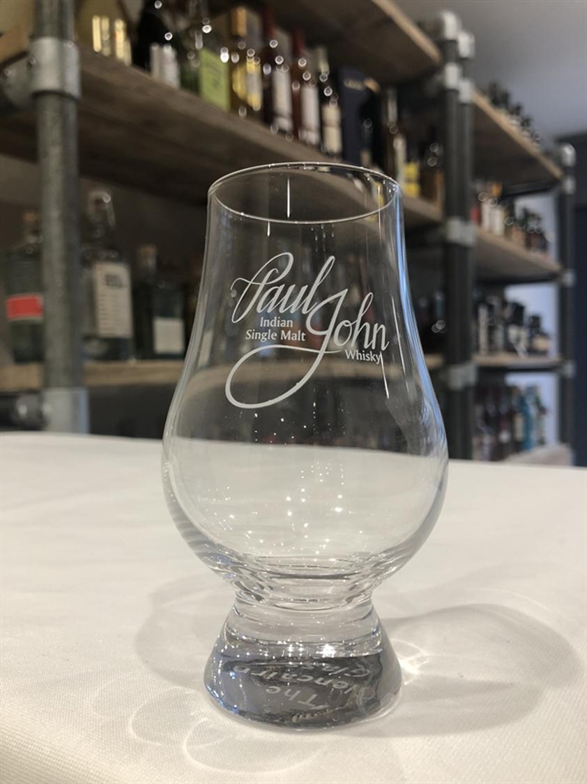 Paul John branded Glencairn Glass