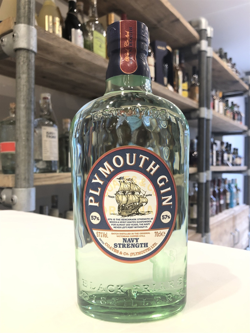 Plymouth Gin Navy Strength 57% 70cl