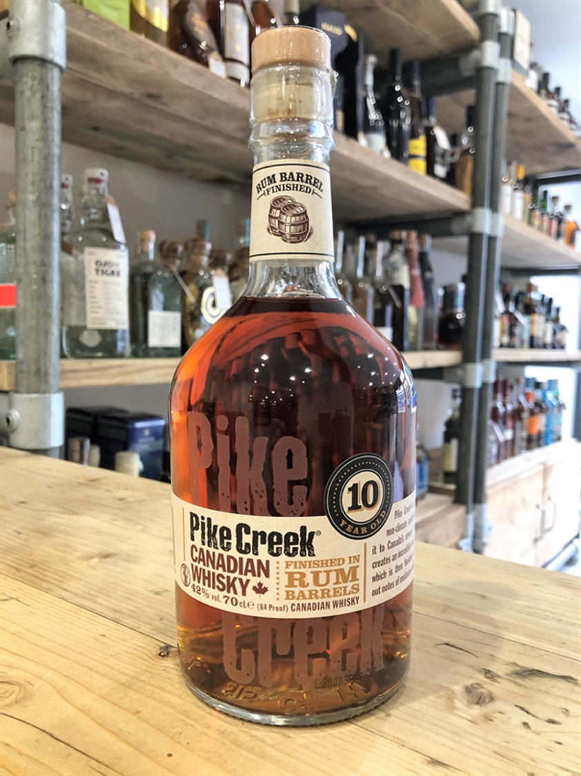 Pike Creek 10yo Finished in Rum Barrels 43% 70cl