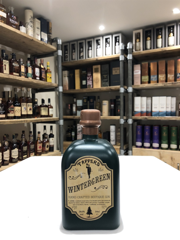 Tappers Wintergreen Boutique Gin 39.6% 50cl
