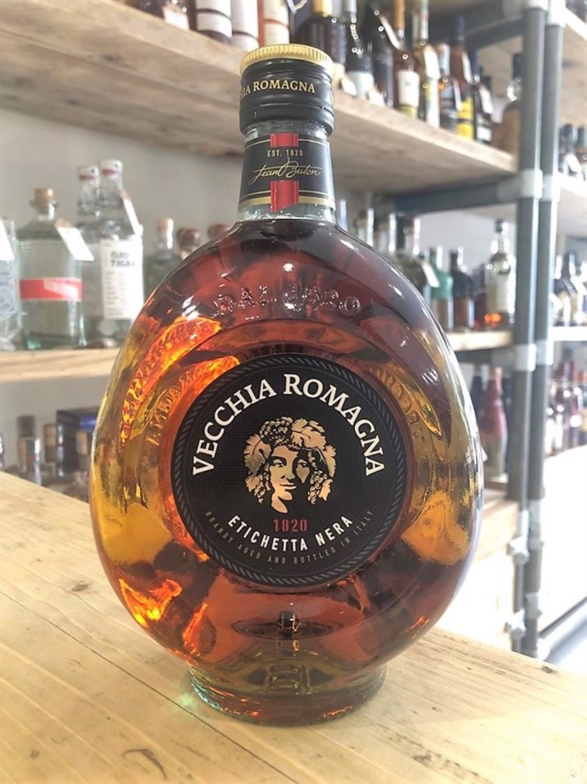Vecchia Romagna Etichetta Nera Italian Brandy 38% 70cl
