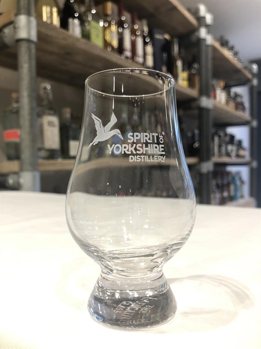 Spirit of Yorkshire branded Glencairn Glass