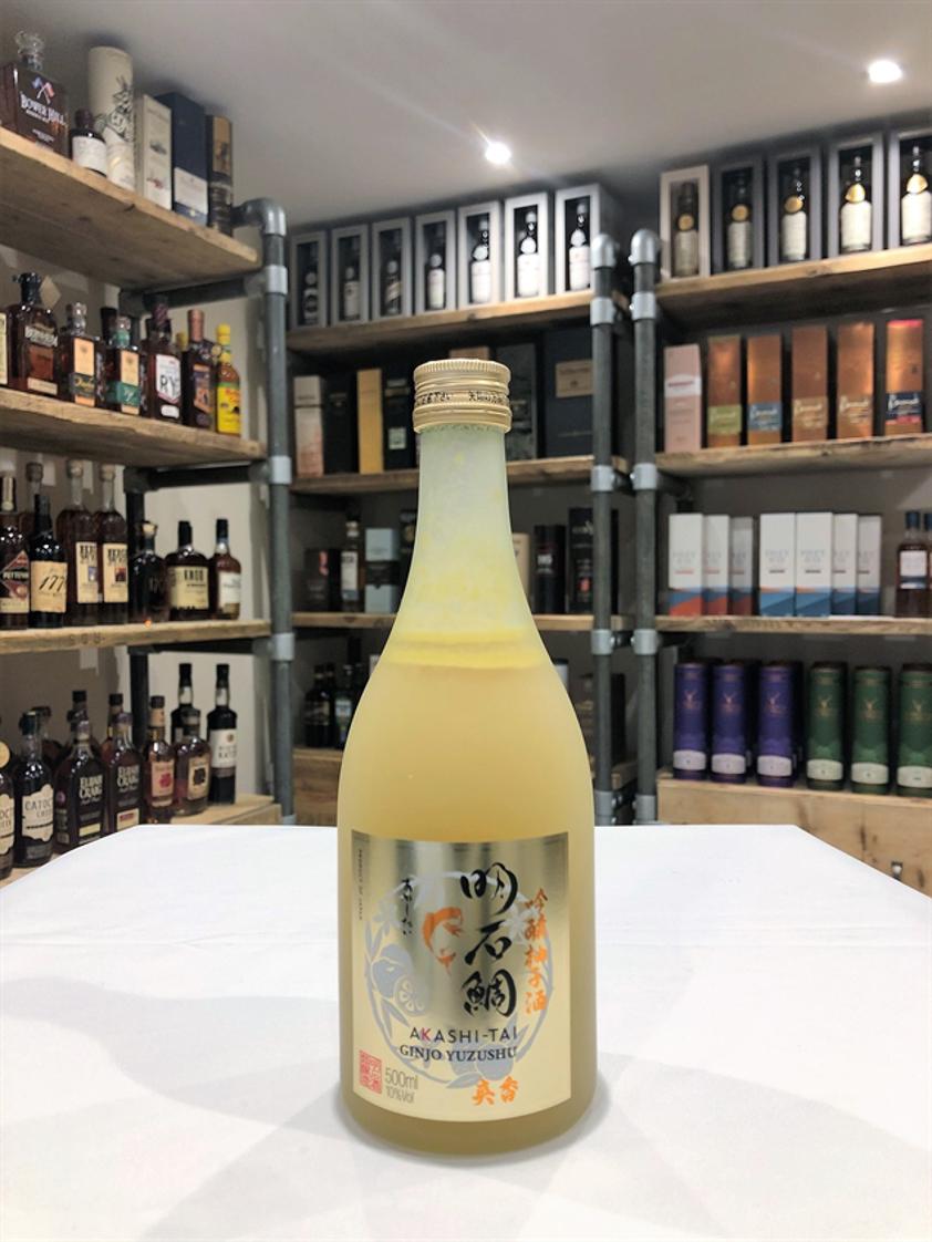 Akashi-Tai Sake Ginjo Yuzushu Sake 50cl