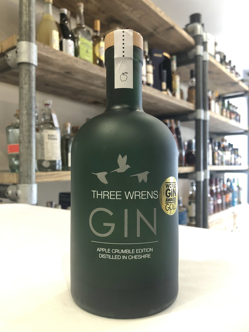 Three Wrens Apple Crumble Edition Gin 40% 70cl
