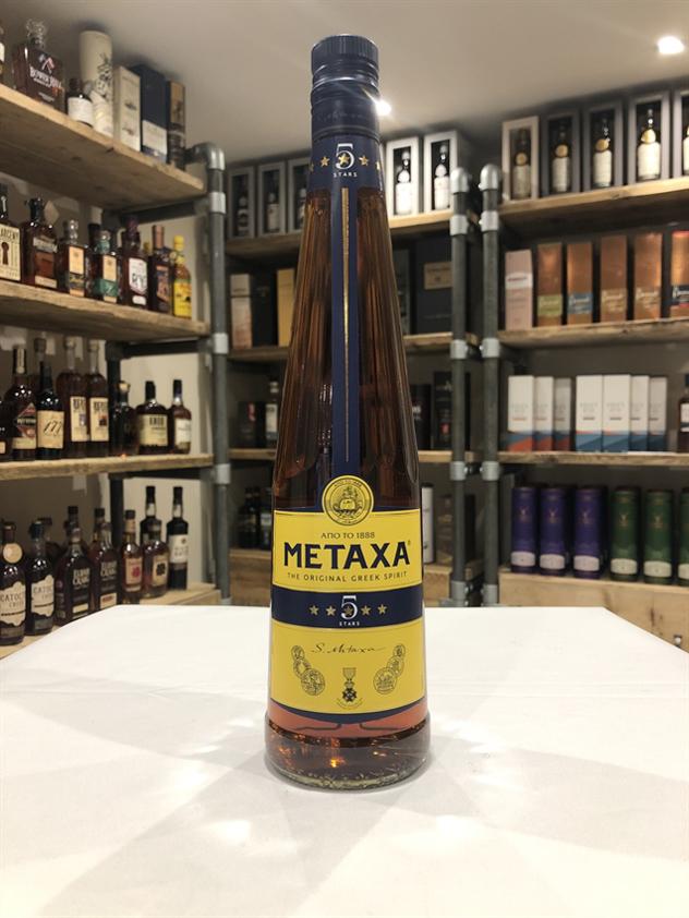 Metaxa 5 Star Greek Spirit 38% 70cl