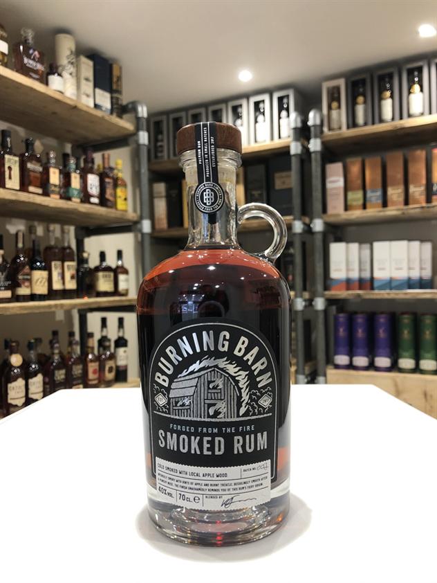 Burning Barn Smoked Rum 70cl