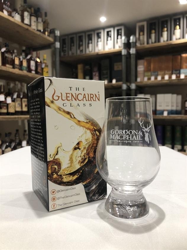 Gordon & MacPhail branded Glencairn Glass