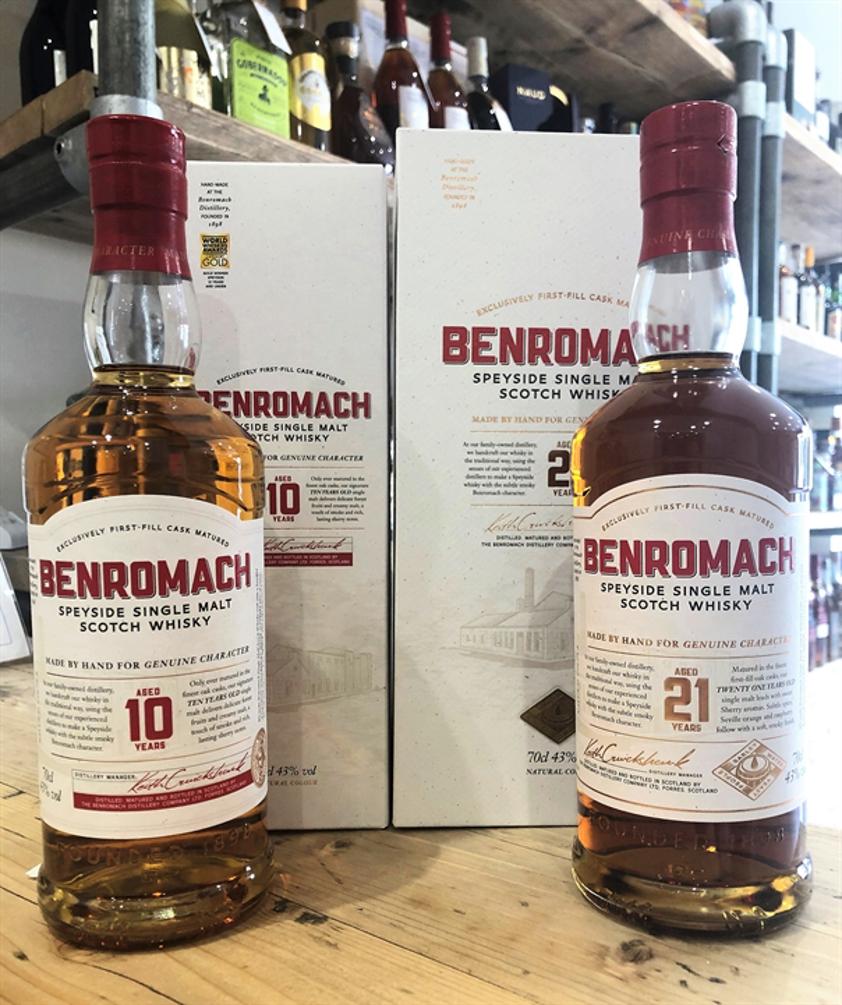 Benromach 10yo WIN A BOTTLE OF BENROMACH 21yo 43% 70cl
