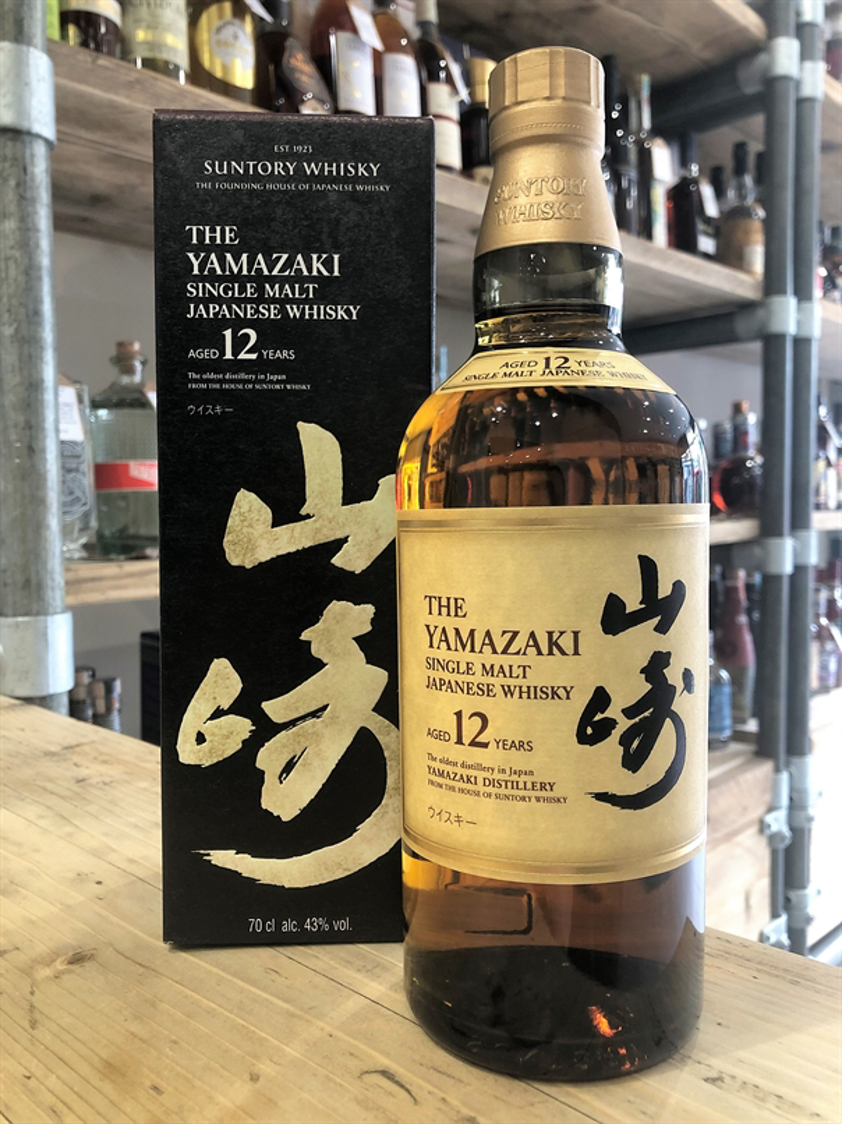 Suntory Yamazaki 12yo 43% 70cl