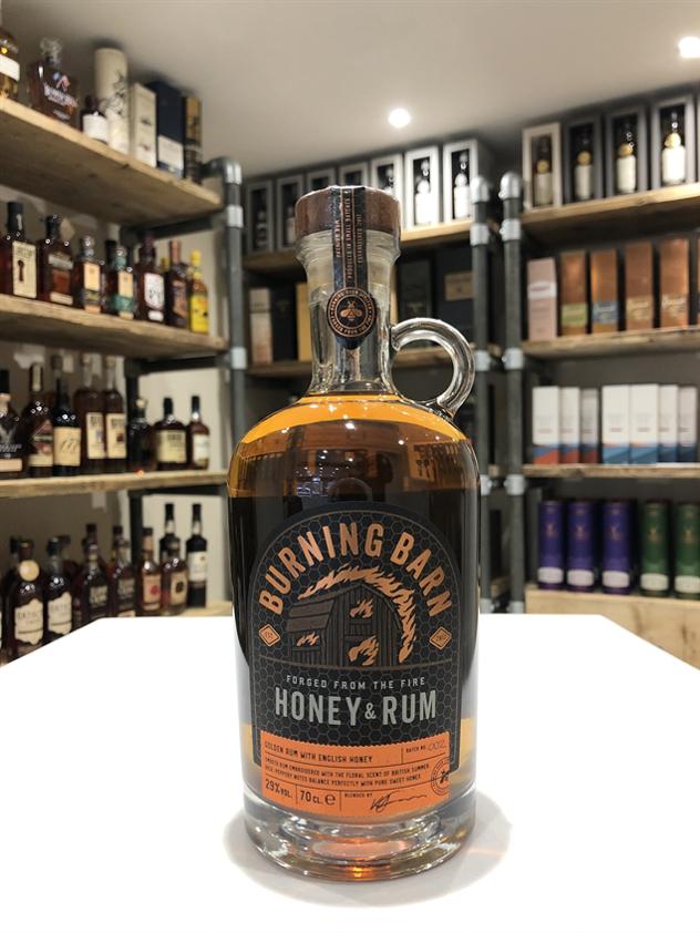 Burning Barn Honey and Rum Liqueur 70cl