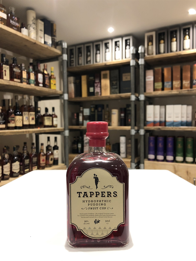 Tappers Hydropathic Pudding Fruit Cup 32% 50cl