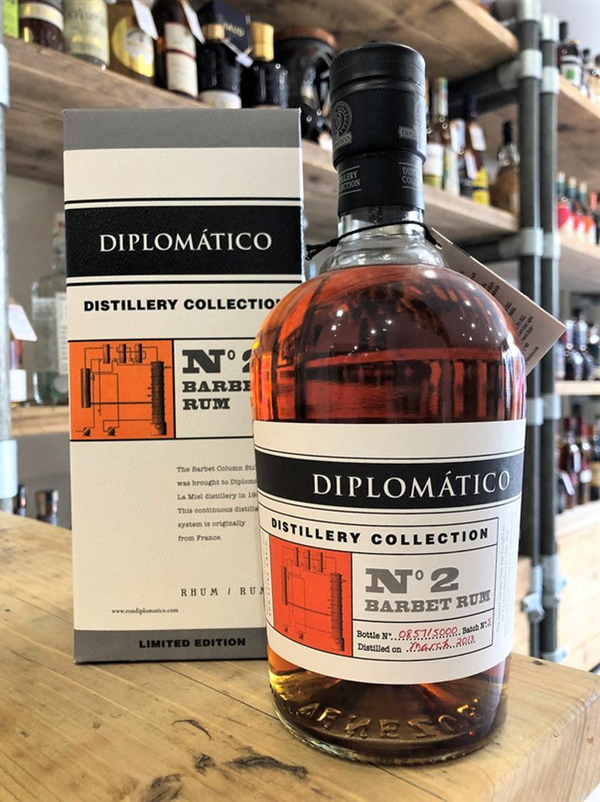 Diplomatico No 2 Barbet Rum 70cl