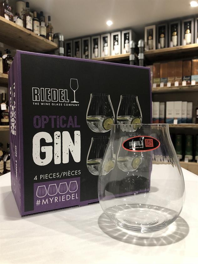 Riedel Optical Gin Glasses - Pack of 4