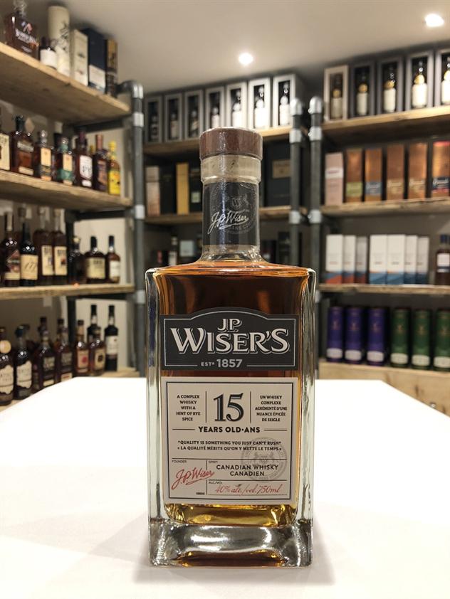 J.P. Wiser's 15yo 70cl