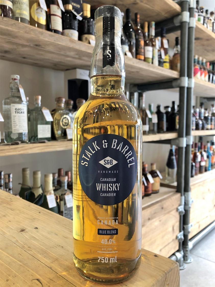 Stalk & Barrel Blue Blend Canadian Whisky 40% 75cl