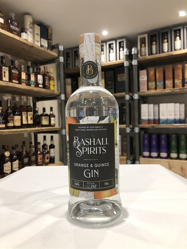 Bashall Spirits Orange and Quince Gin 70cl