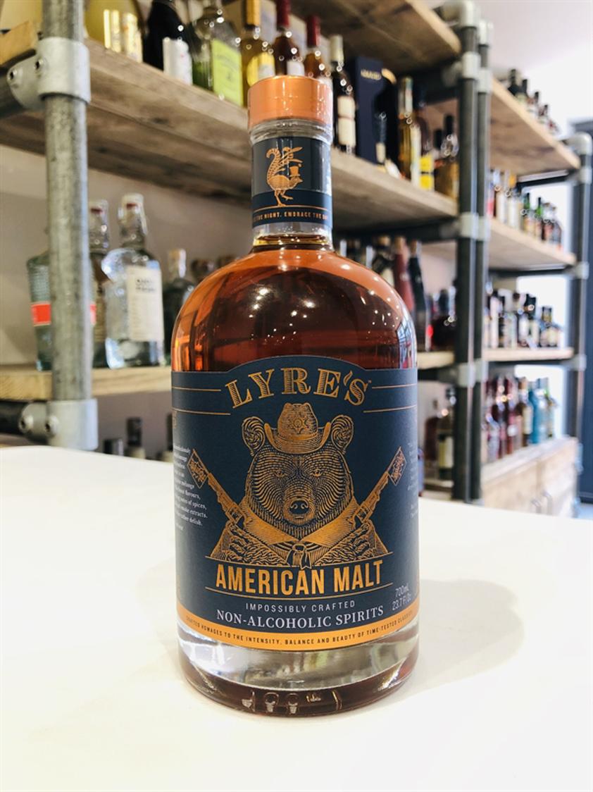 Lyre's American Malt - Non-Alcoholic Spirit 0% 70cl